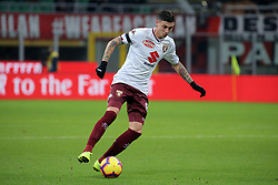 December 9, 2018 - Milan, Milan, Italy - Daniele Baselli #8 of Torino FC in action during the serie A match between AC Milan and Torino FC at Stadio Giuseppe Meazza on December 09, 2018 in Milan, Italy. (Credit Image: © Giuseppe Cottini/NurPhoto via ZUMA Press)