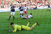 "Fotball , 20. mai 2012, Tippeligaen , Eliteserien <br /> Fredrikstad - Viking <br /> Rune Almenning Jarstein , Viking har akkurat sluppet inn Mouhammed ""Momo"" Gueye`s 3-0 mål<br /> Foto: Sjur Stølen , Digitalsport"