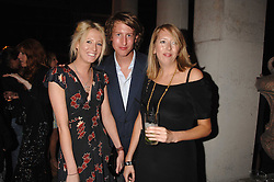 Left to right, the HON.SOPHIA HESKETH, the HON.FREDDIE HESKETH and the HON.FLORA HESKETH at the Quintessentially Summer Party at the Wallace Collection, Manchester Square, London on 6th June 2007.<br />