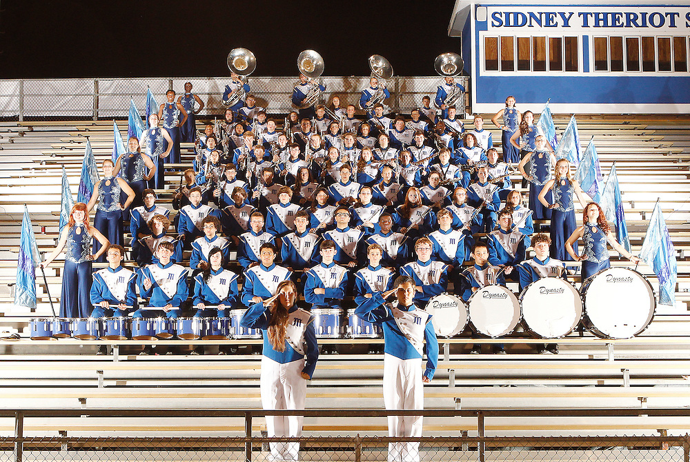 Mandeville High School Marching Band Photos 2012. <br />