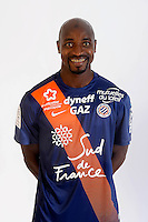 Souleymane CAMARA - 06.10.2015 - Photo officielle Montpellier - Ligue 1<br /> Photo : De Hullessen / Mhsc / Icon Sport