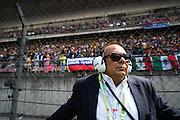 April 15-17, 2016: Chinese Grand Prix, Shanghai, Checo Perez's father