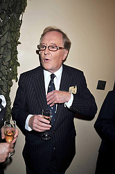 Actor ROBERT HARDY at the launch of the Imperial War Museum's 70th anniversary commemorating the outbreak of World War 11 held at the Cabinet War Rooms, Whitehall, London on 2nd September 2009.