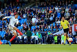 England's Dele Alli fires a shot at goal  - Mandatory byline: Matt McNulty/JMP - 07966386802 - 22/05/2016 - FOOTBALL - Etihad Stadium -Manchester,England - England v Turkey - International Friendly