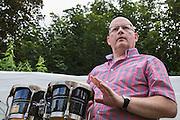 Mark McLaughlan musician and organiser of the Long Cram Jam