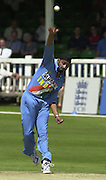 .24/06/2002.Sport - Cricket - .One day game 50 overs - Kent CC vs India.St Lawrence Ground - Canterbury.Harbhajan Singh