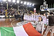 LUCCA 21 NOVEMBRE  2015<br /> BASKET NAZIONALE FEMMINILE<br /> ITALIA ALBANIA<br /> NELLA FOTO Italia<br /> FOTO CIAMILLO