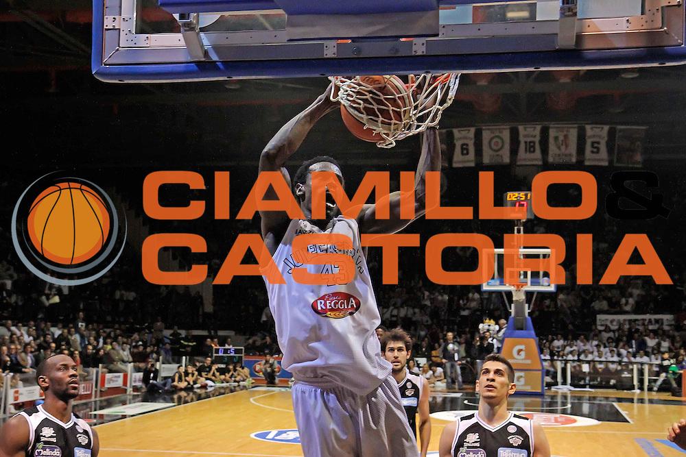 Caserta 04.05.2016<br /> Basket Serie A<br /> Pasta Reggia Caserta - Dolomiti Energia Trento<br /> <br /> Nella foto: Linton Johnson