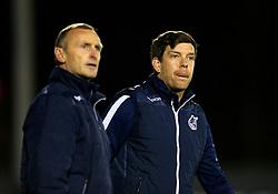 Bristol Rovers manager Darrell Clarke (R) and First Team coach Steve Yates (L) - Mandatory by-line: Matt McNulty/JMP - 14/03/2017 - FOOTBALL - Gigg Lane - Bury, England - Bury v Bristol Rovers - Sky Bet League One