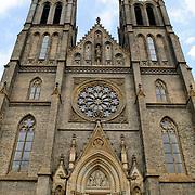 Cathedral at Peace Square (Bnestu Miru) in Prague