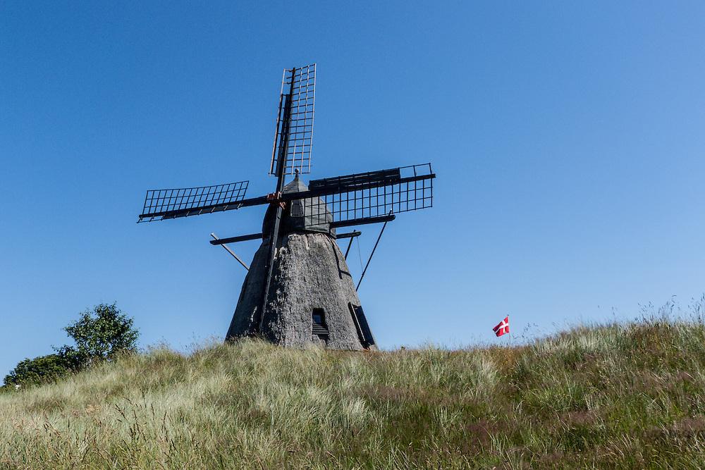 Old wind mill in Skagen, Denmark