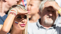 26.06.2016, Stade Pierre Mauroy, Lille, FRA, UEFA Euro 2016, Deutschland vs Slowakei, Achtelfinale, im Bild ein weiblicher Slowakei Fan // Slovakian Women during round of 16 match between Germany and Slovakia of the UEFA EURO 2016 France at the Stade Pierre Mauroy in Lille, France on 2016/06/26. EXPA Pictures © 2016, PhotoCredit: EXPA/ JFK