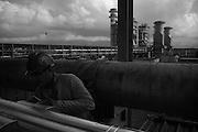 trabalhadores operários de furnas - Santa Cruz , Rio de janeiro  .labor workers of caverns - Santa Cruz, Rio of January