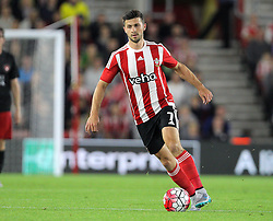 Shane Long of Southampton - Mandatory byline: Paul Terry/JMP - 07966386802 - 20/08/2015 - FOOTBALL - ST Marys Stadium -Southampton,England - Southampton v FC Midtjylland - EUROPA League Play-Off Round