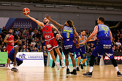 Jordan Nicholls of Bristol Flyers - Photo mandatory by-line: Robbie Stephenson/JMP - 29/03/2019 - BASKETBALL - English Institute of Sport - Sheffield, England - Sheffield Sharks v Bristol Flyers - British Basketball League Championship