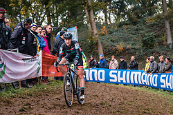 ANDERSON Elle (USA) during the Women's race, UCI Cyclo-cross World Cup at Valkenbrug, The Netherlands, 23 October 2016. Photo by Pim Nijland / PelotonPhotos.com | All photos usage must carry mandatory copyright credit (Peloton Photos | Pim Nijland)