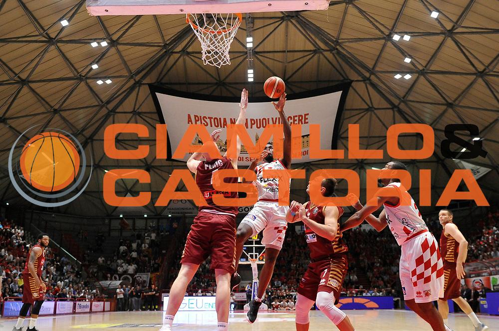 Lombardi Eric<br /> The Flexx Pistoia Basket - Umana Reyer Venezia<br /> Lega Basket Serie A 2016/17<br /> Pistoia, 17/05/2017<br /> Foto Ciamillo-Castoria