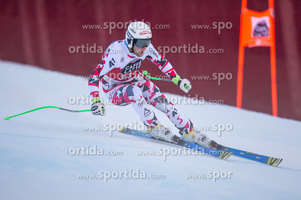 29.12.2015, Deborah Compagnoni Rennstrecke, Santa Caterina, ITA, FIS Ski Weltcup, Santa Caterina, Abfahrt, Herren, im Bild Johannes Kroell (AUT) // Johannes Kroell of Austria in action during the men's Downhill of the Santa Caterina FIS Ski Alpine World Cup at the Deborah Compagnoni Course in Santa Caterina, Italy on 2015/12/29. EXPA Pictures © 2015, PhotoCredit: EXPA/ Johann Groder