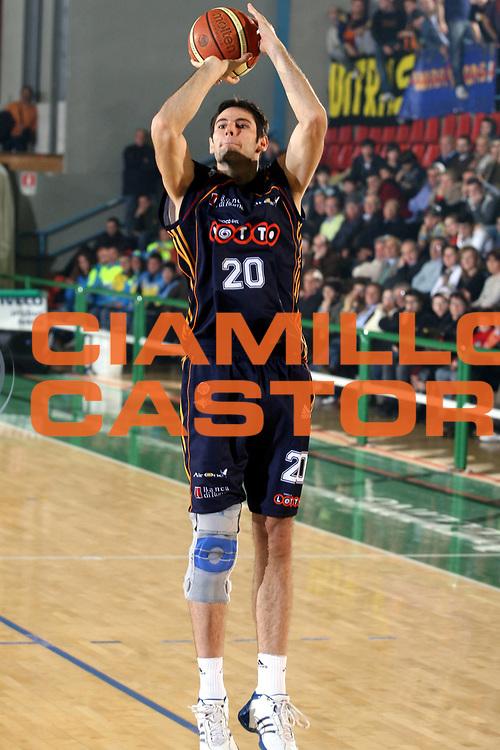 DESCRIZIONE : Avellino Lega A1 2006-07 Air Avellino Lottomatica Virtus Roma<br />GIOCATORE : Askrabic<br />SQUADRA : Lottomatica Virtus Roma<br />EVENTO : Campionato Lega A1 2006-2007 <br />GARA : Air Avellino Lottomatica Virtus Roma<br />DATA : 21/01/2007 <br />CATEGORIA : Tiro<br />SPORT : Pallacanestro <br />AUTORE : Agenzia Ciamillo-Castoria/G.Ciamillo