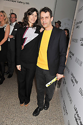 BELLA FREUD and MARIOS SCHWAB at the Swarovski Whitechapel Gallery Art Plus Fashion fundraising gala in support of the gallery's education fund held at The Whitechapel Gallery, 77-82 Whitechapel High Street, London E1 on 14th March 2013