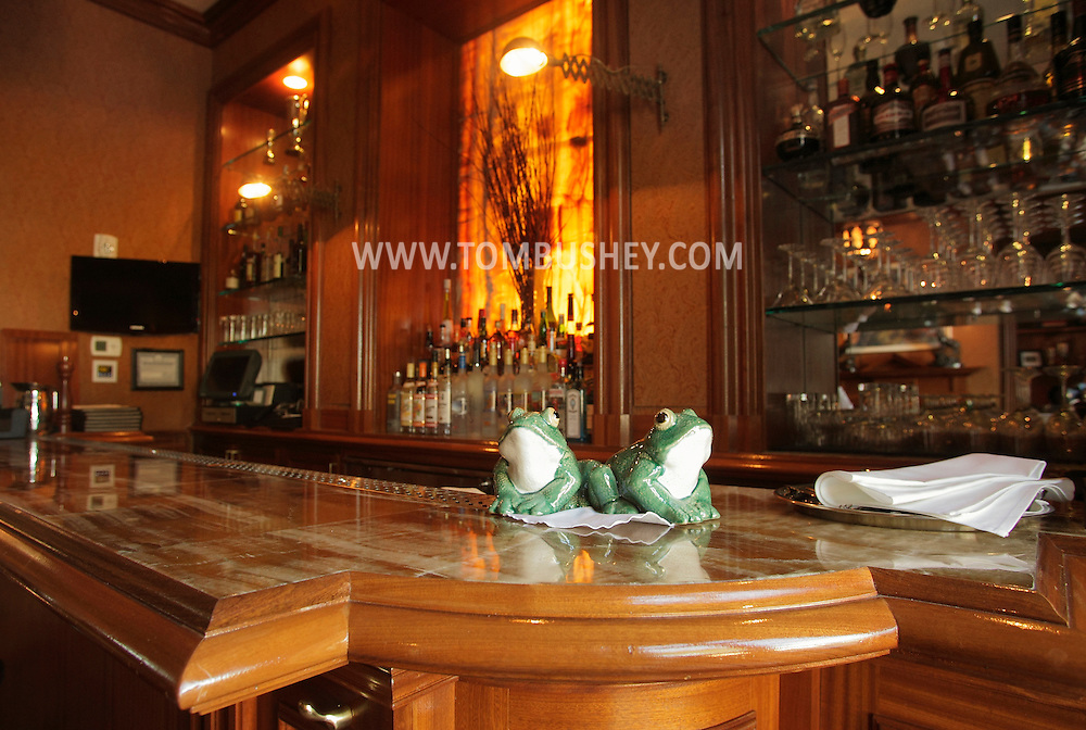 A view of the bar in the tavern at the Glenmere Mansion in Chester on Thursday, Dec. 17, 2009.