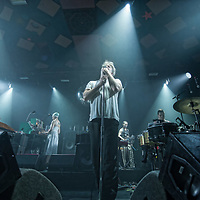 LCD Sound Systems in concert at The Barrowland Ballroom, Glasgow, Scotland 20th September 2017