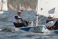 2016 Olympic Sailing Games-Rio-Brazil, ANP Copyright Olympische Spelen Zeilen, ls-RUS- Sergey Komissarov- Laser Standaard