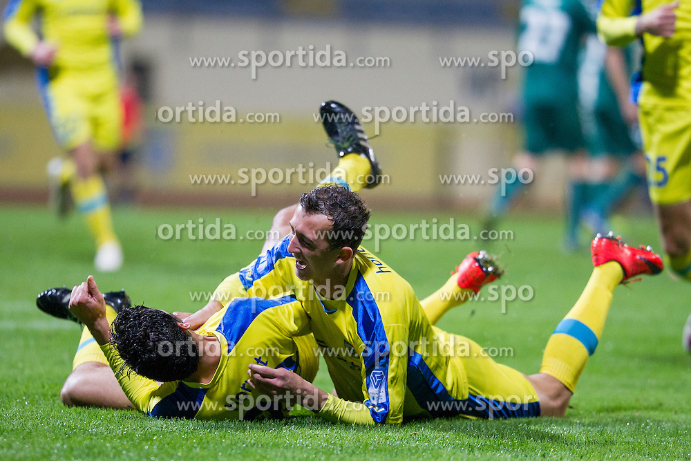 Lucas Mario Horvat #23 of NK Domzale during football match between NK Domzale and NK Krka in 14th Round of Prva liga Telekom Slovenije 2015/16, on October 17, 2015 in Sports park Domzale, Slovenia. Photo by Urban Urbanc / Sportida