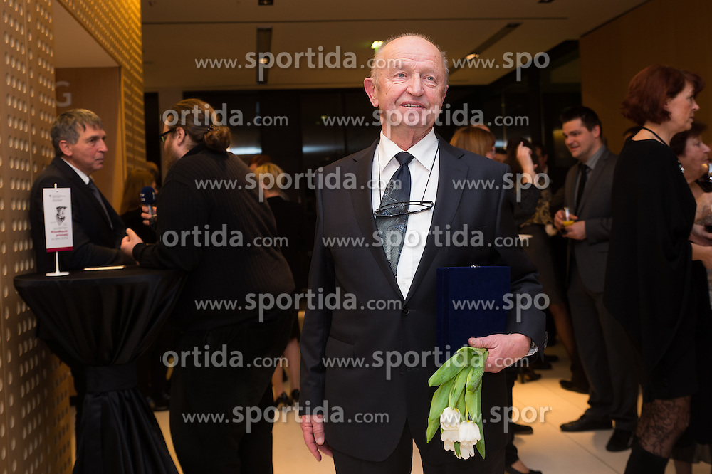 Janez Ivan Hafner at 52th Annual Awards of Stanko Bloudek for sports achievements in Slovenia in year 2016 on February 14, 2017 in Brdo Congress Center, Brdo, Ljubljana, Slovenia.  Photo by Martin Metelko / Sportida
