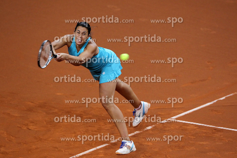 24.04.2012, Porsche Arena, Stuttgart, GER, WTA, Porsche Tennis Grand Prix Stuttgart, im Bild Marion BARTOLI (FRA) // during the WTA Porsche Tennis Grand Prix at the Porsche Arena, Stuttgart, Germany on 2012/04/24. EXPA Pictures © 2012, PhotoCredit: EXPA/ Eibner/ Eckhard Eibner..***** ATTENTION - OUT OF GER *****