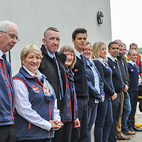 "Picture. John Allen<br /> <br /> Volunteer crew members of Kinsale RNLI  gave a warm welcome the His Royal Highness the Duke of Kent who made his first visit to the busy West Cork lifeboat station today (Wednesday 31 May).  The Duke has been Patron and President  of the RNLI,  the charity that saves lives at sea, since 1969.   He spent almost an hour meeting volunteers and hearing details of successful rescues by the Kinsale volunteers, including the Sean Anthony in April 2016 when three Portuguese fishermen were saved from a sinking trawler, and the evacuation of 30 people from the sailing vessel Astrid that foundered outside Kinsale Harbour in July 2013.  The Duke was introduced to Christopher Keane Hopcraft, one of the young people rescued from the Astrid, and Mrs Janet Rutherford who received medical attention and was brought to safety after she was injured on board a yacht.  Members of the local community were also invited to meet the Duke, including representatives of Kinsale's fishing fleet, along with RNLI volunteers from West Cork's newest station in Union Hall and representatives of the GAA, partners in the RNLI Respect the Water campaign that aims to halve the number of coastal deaths by 2024.<br /> <br /> The Duke said:<br /> <br /> Kinsale RNLI Lifeboat Operations Manager, John O'Gorman, said:  ""It was a honour and a privilege for us to meet the Duke who has provided unwavering support to the RNLI for almost half a century.  Our station on the Wild Atlantic Way is a long way from the RNLI HQ in Poole so we rarely get the opportunity to meet someone so close to the heart of the charity.  In that time he has visited the vast majority of lifeboat stations and we are delighted he chose to add Kinsale to that list.  He showed a great knowledge and understanding of our lifesaving work and <br /> sometimes being so on the coalface"