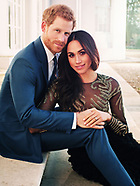 Prince Harry & Meghan Markle Official Engagement Images