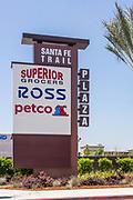 Santa Fe Trail Plaza Signage