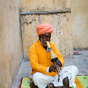 Snake Charmer at Amber Fort, Jaipur