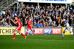 Tom Nichols of Bristol Rovers takes a shot at goal - Mandatory by-line: Dougie Allward/JMP - 28/10/2017 - FOOTBALL - Memorial Stadium - Bristol, England - Bristol Rovers v Milton Keynes Dons - Sky Bet League One