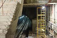 Construccion del Metro de Panamá. Estación Fernandez de Cordova. ©Victoria Murillo/Istmophoto.com