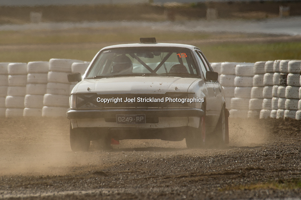 Craig Jarvie - Holden Commodore - Rallycross Australia - Winton Raceway - 16th July 2017