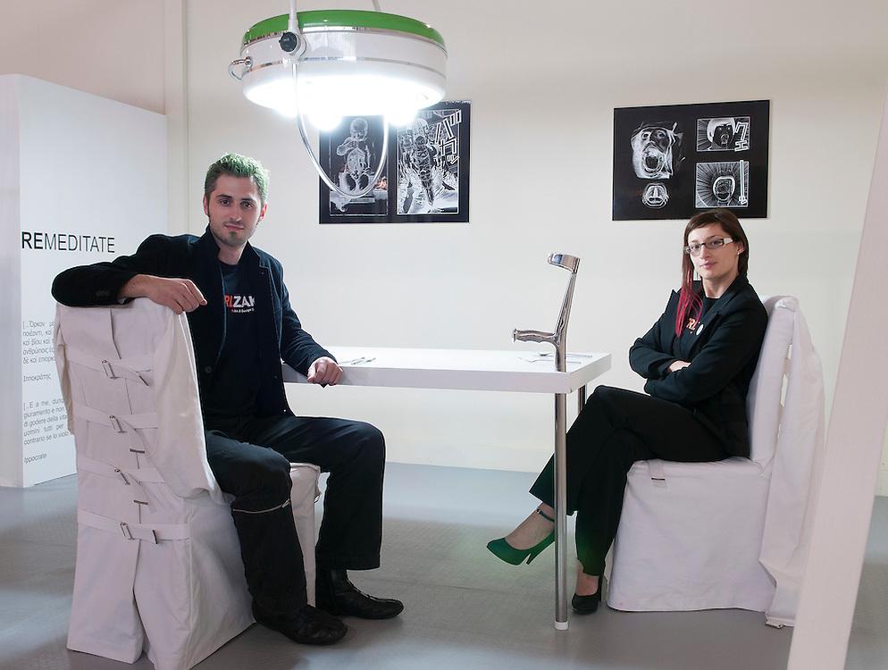 Thanos Zakopoulos e Katia Meneghini di CTRLZak Art&Design Studio (Italy)