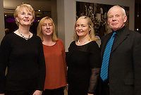 Emer Clancy, Karla Quinn, Rosaleen Fitzsimmons and Joe Kennedy from Medtronic who  performed  at Choir Factor in the Radisson Blu.<br /> Choir Factor is a fundraiser for The Sccul Sanctuary, Therapeutic Support Centre in Kilcornan Clarenbrdge.<br /> <br />  Photo:Andrew Downes, xposure.