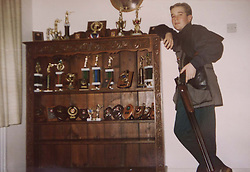Longparish, near Andover. Richard Faulds got a gold medal in the shooting at the olympics. He lives in Longparish.  Collections of Richard when he was young, September 29, 2000. Photo by Andrew Parsons / i-Images..