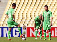 FOOTBALL - AFRICAN NATIONS CUP 2010 - GROUP A - MALAWI v ALGERIA - 11/01/2010 - PHOTO MOHAMED KADRI / DPPI - RAFIK SAIFI / KARIM ZIANI (ALG)