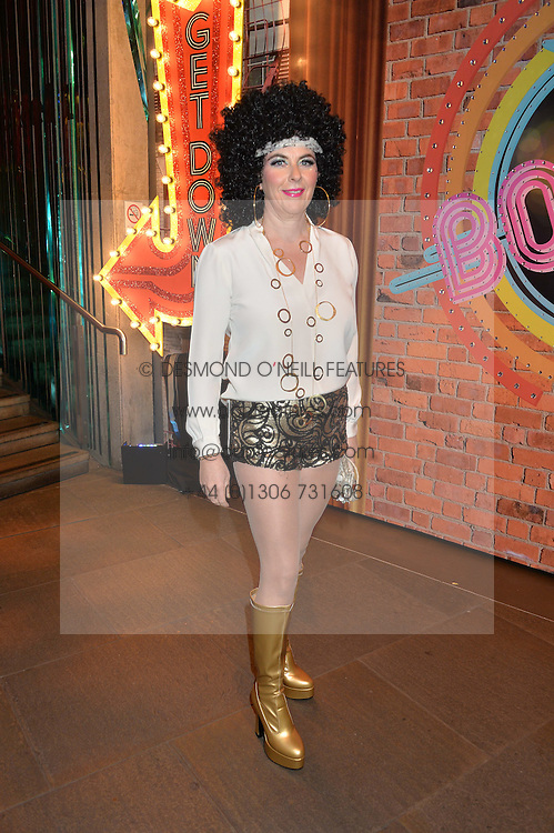 COUNTESS DORA della GHERARDESCA at a Night of Disco in aid of Save The Children held at The Roundhouse, Chalk Farm Road, London on 5th March 2015.