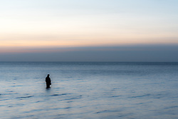 8 April 2018, Visby, Gotland, Sweden: Flyfishing with Fish Your Dream, Sweden. Here, Fish Your Dream guide Robert Hansson.