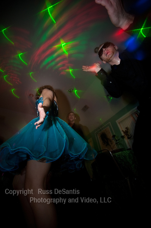 Lexi's sweet sixteen party was a high-energy, colorful event.
