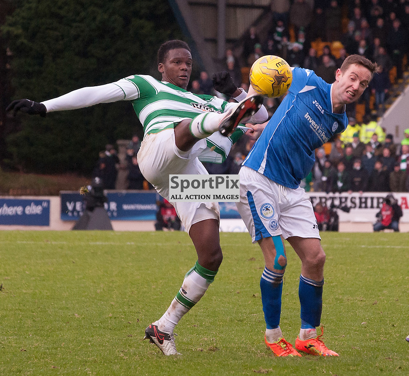 #20 Dedryck Boyata (Celtic) clears his lines<br /> <br /> St Johnstone v Celtic &bull; Ladbrokes Premiership &bull; 13 December 2015<br /> <br /> &copy; Russel Hutcheson | SportPix.org.uk