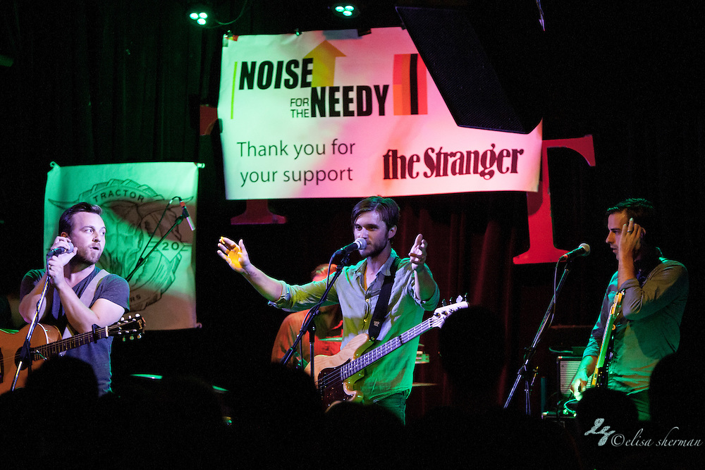 """Ivan & Alyosha  performs at Noise for the Needy 2014, Tractor Tavern 9-13-2014 