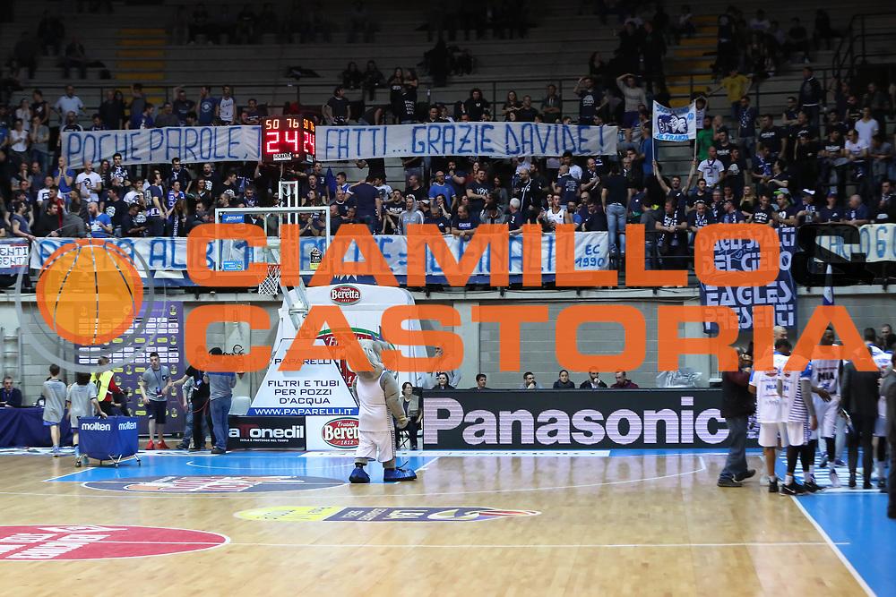 Tifosi Mia Cantù, Mia Cantù vs Grissin Bon Reggio Emilia LBA serie A 6^ giornata di ritorno stagione 2016/2017 PalaDesio 06/03/2017