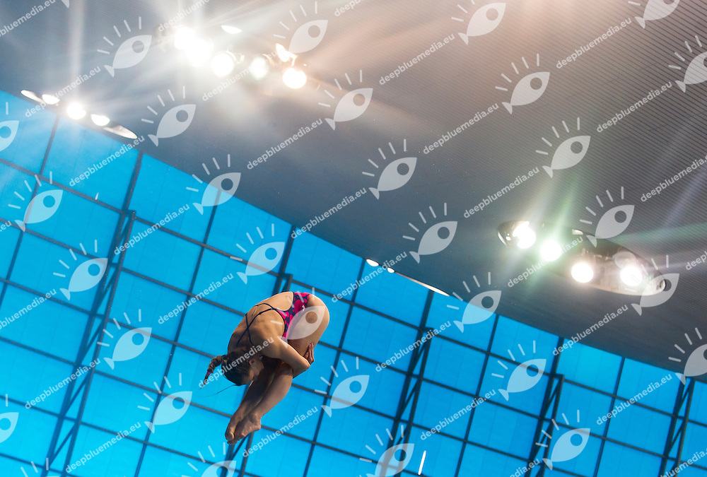 CAGNOTTO Tania ITA<br /> London, Queen Elizabeth II Olympic Park Pool <br /> LEN 2016 European Aquatics Elite Championships <br /> Diving<br /> Women's 3m springboard preliminary <br /> Day 06 14-05-2016<br /> Photo Giorgio Perottino/Deepbluemedia/Insidefoto