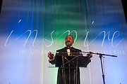 Ohio University President Roderick McDavis addresses guests and award recipients at the 32nd Annual Leadership Awards Gala in Baker University Ballroom on Wednesday, April 1st.