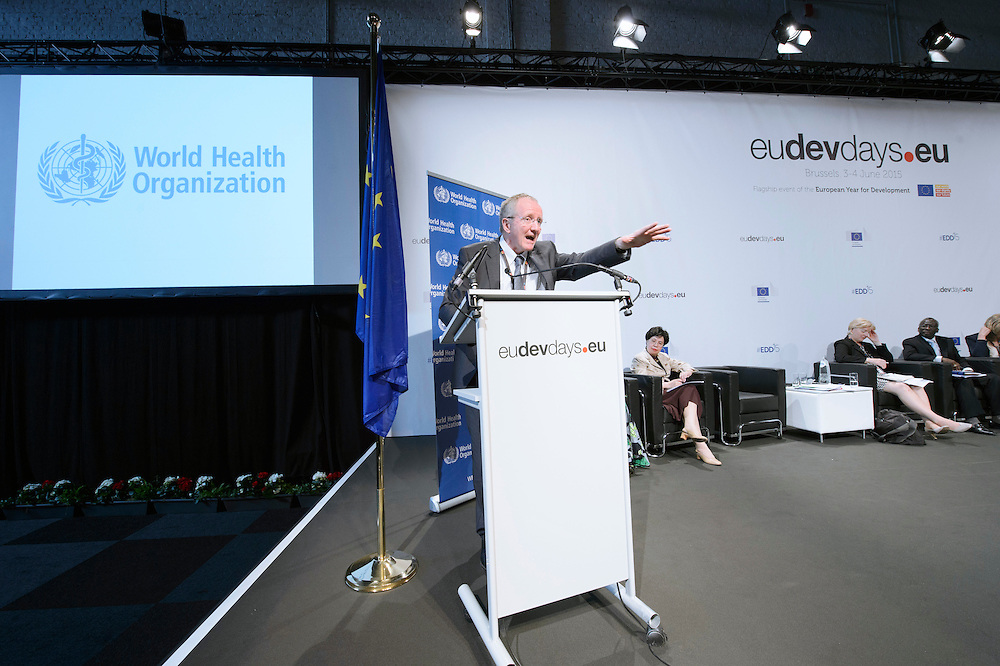 04 June 2015 - Belgium - Brussels - European Development Days - EDD - Health - Defeating Ebola and building up resilient health systems for a better future - Claus S&oslash;rensen<br /> Director General, Directorate-General for Humanitarian Aid and Civil Protection, European Commission &copy; European Union